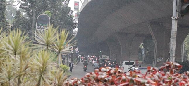 Salah satu sudut kota di Kota Bandung